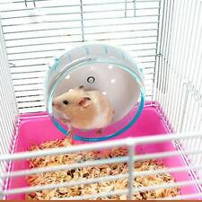 Hamster Mouse Rat Exercise Plastic Silent Running Spinner Wheel Pet Toy