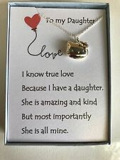 Hello Kitty Inspired locket necklace w/ love poem for your daughter.