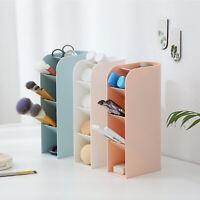 3x Desktop Storage Box Pen Pencil Holder Stationery Organizer Home School Office