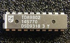 5x TDA9802 Multistandard VIF-PLL demodulator and FM-PLL detector, Philips