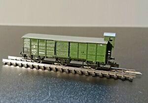 Minitrix Gedeckter Güterwagen der K.Bay.Sts.B. (Art.-Nr.: 13269), ohne OVP