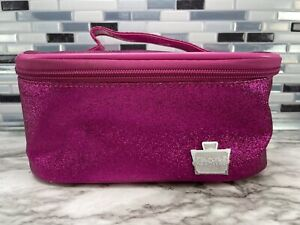 CABOODLES Go Getter Glitter Pink Mini Vanity Small Cosmetic Makeup Case Travel