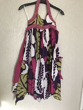 Bnwt Monsoon Age 9-10 Years Multi Coloured Dress
