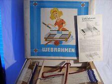 VEB Kamenzer Spielwaren aus der DDR Webrahmen Holz für Kinder u. Erwachsene