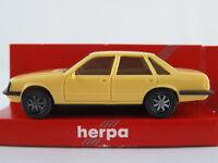 Herpa 2010 Opel Senator A 3,0 E (1978-1982) in hellgelb 1:87/H0 NEU/OVP