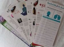 8 ESSENTIAL OILS  REFERENCE CARD New for DoTerra Young Living