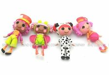 Lot 4pcs LALALOOPSY Dolls Mini Lalaloopsy Playset 3in.Action Figure Toys Gifts