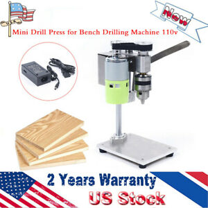 Bench Top Mini Drill Press 2 Speed for Wood,Metal or Plastic Hobby Table Top