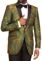 NEW MENS JACKET GREEN BLAZER TUXEDO for WEDDING PARTY SLIM FIR JACKET MODERN