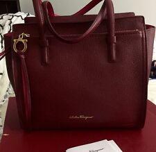 Salvatore Ferragamo small Amy Bi-color Leather Bag