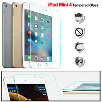 Scratch Resist Tempered Glass Screen Protector Guard for Apple iPad Mini 4 Wifi