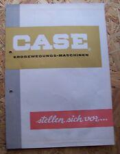 Originale Baumaschinen Werbung der 60iger. Bagger Schieber Radlader Kran  (12)
