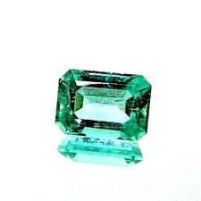 1x Smaragd - Octagon step cut facettiert  9,82x6,98x5,33mm 2,66ct. (PLG375)