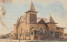1908? RPPC Methodist Church San Angelo TX