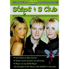 Sunfly Karaoke DVD Steps S Club - Full Video Blue Options All Region Any Player