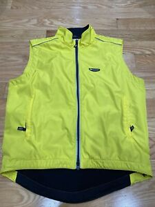 Louis Garneau Cycling Vest XL Yellow
