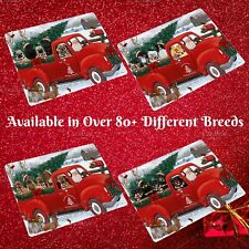 Christmas Santa Express Delivery Red Truck Cutting Board, Dogs, Cats, Pet
