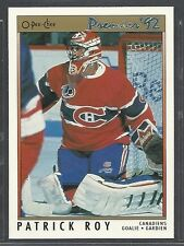 1991-92 O-Pee-Chee Premier Hockey - #14 - Patrick Roy - Montreal Canadiens