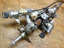 95 99 JDM TOYOTA STARLET GLANZA EP91 STEERING WHEEL IGNITION CYLINDER W KEY OEM