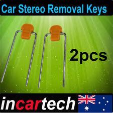 2 x Radio / Stereo Removal Keys Tool Kit for Mazda Ford Falcon, Holden