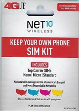 Net10 - Bring Your Own Phone Sim Activation Kit