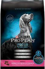 Purina Pro Plan Sensitive Skin &Stomach,High Protein Adult Dry Dog Food 5 lb.bag