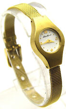 """EDDIE BAUER 8.5"""" Watch Round White Face w/ Numbers 12 3 6 9 Small Analog WORKS"""