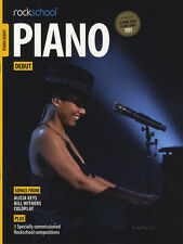 Rockschool piano Debut examen Partituras Libro/Audio Coldplay Alicia Keys