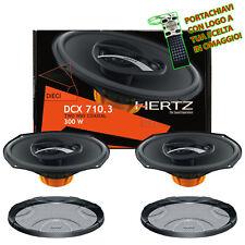 Hertz DCX 710.3 Coppia Casse Altoparlanti Ovali 3 Vie 300W 17X25CM + Griglie