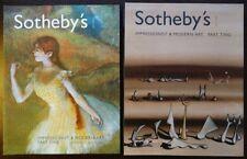 2 Sotheby's Art Tableau peinture moderne Modern Impressionist 6 7 May Mai 2003