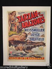 Tarzan & the Amazons 1945 Johnny Weissmuller, Johnny Sheffield & Brenda Joyce