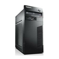 Lenovo ThinkCentre M72e Tower Core i5-3470 @ 3.2 GHz 8GB RAM 250GB HDD Win 10