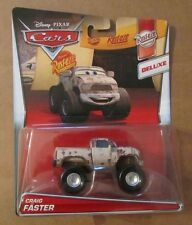 Disney Pixar Cars 2 CRAIG FASTER ~ DELUXE ~ Rust-Eze ~ NIP