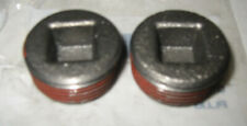 1965-72 CHEVROLET BIG BLOCK CYLINDER HEAD PLUGS 1-1/4 NEW GM NOS OLD STOCK PAIR