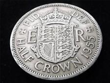 1955 Elizabeth II half-crown coin