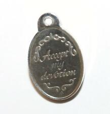 """Love Token """"Accept My Devotion"""" Sterling Silver Vintage Charm c.1960s, Small"""