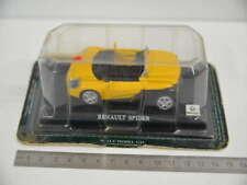 40 ) DeAgostini Renault Spider Cabrio 1:43 in gelb -