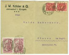 GERMANY/REICH: Inflation cover 1923.