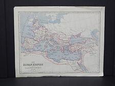 Antique Map, c.1900 Roman Empire #09