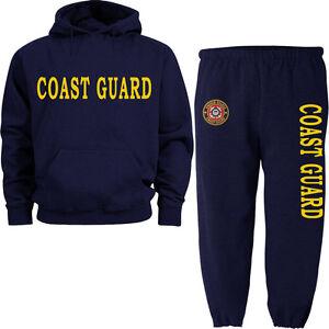 US Coast Guard sweatpants sweatshirt hoodie sweats tracksuit jogging warm-ups