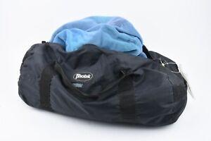 EXC++ PHOTEK 6' x 7' MEDIUM BLUE VELOUR BACKGROUND CLOTH IN A BAG, NICE