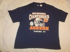Under Armour Heat Gear Auburn Tigers 2011 BCS National Championship T Shirt XL