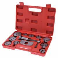 12pcs Universal Auto Brake Caliper Rewind Back Tool Disk Brake Pad Replacement