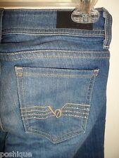bebe 24 Jeans Straight Leg Light Wash Denim Rhinestone Crystal Logo Boot Chic