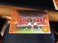 électrique Futera Manchester United millénaire 2000 DWIGHT YORKE