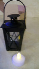 Black Mini Colonial Williamsburg Votive Lantern Tealight Candle NEW Decor Party