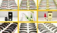10 Pair False Eyelashes Lashes Individual Full Makeup-Style Choice