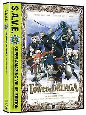 The Tower Of Druaga: Box Set  (2012) New DVD Anime Complete series Fantasy ToD