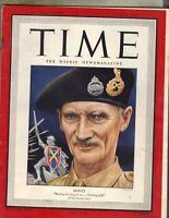 MONTY Time Magazine 7/10/44 WWII