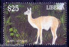 Liberia MNH, Llama, Domestic Animals  - Ac12